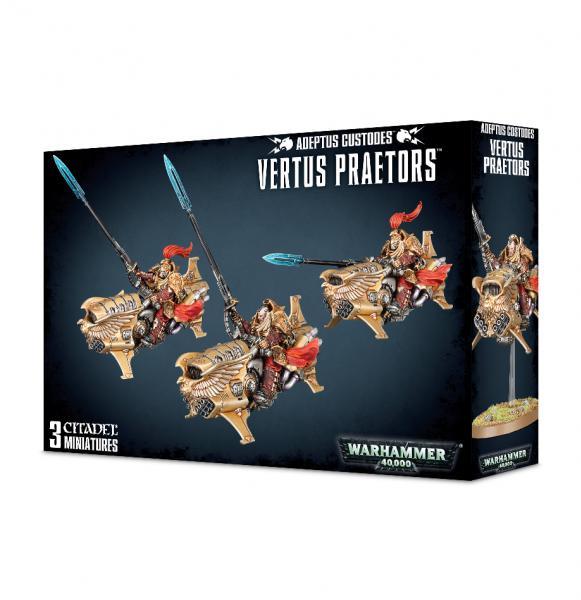 Warhammer 40K: Adeptus Custodes Vertus Praetors