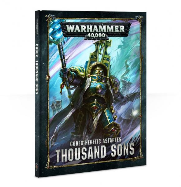 Warhammer 40K: Thousand Sons Codex