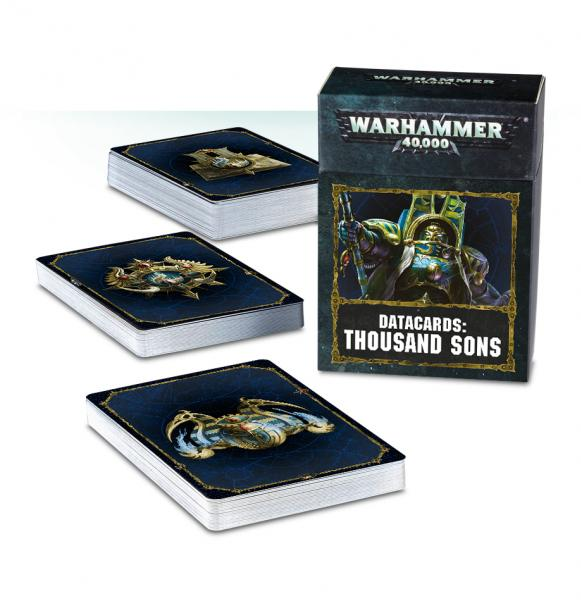Warhammer 40K: Thousand Sons Datacards