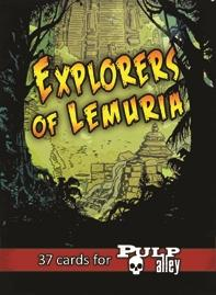Explorers of Lemuria Companion Deck