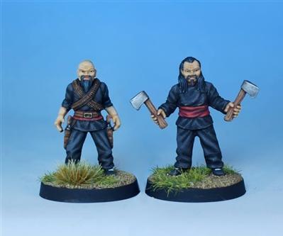 Pulp Alley: Fang's Hatchetmen #1 (2)