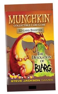 Munchkin CCG: Desolation of Blarg Booster Pack (1)