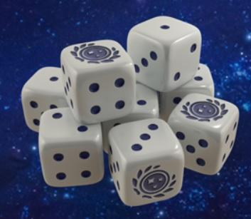 Star Trek Ascendancy: Federation Dice Pack