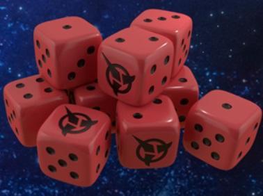Star Trek Ascendancy: Klingon Dice Pack