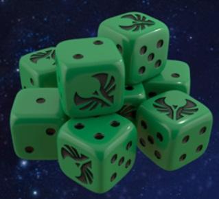 Star Trek Ascendancy: Romulan Dice Pack