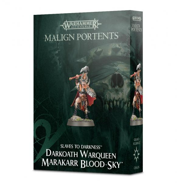 Age of Sigmar: Darkoath Warqueen Marakarr Blood Sky