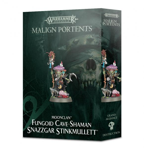 Age of Sigmar: Fungoid Cave-Shaman Snazzgar Stinkmullett