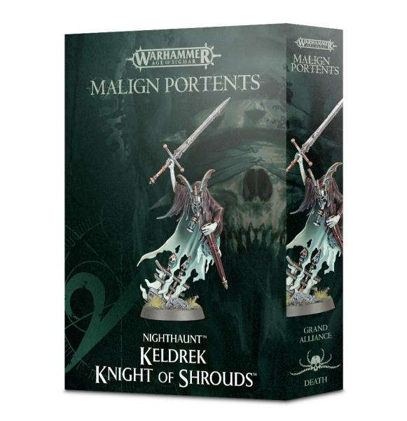 Age of Sigmar: Nighthaunt Keldrek - Knight of Shrouds