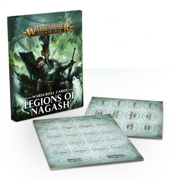 Age of Sigmar: Legions of Nagash Warscroll Cards