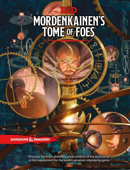D&D: Mordenkainen's Tome of Foes (HC) [Standard Cover]