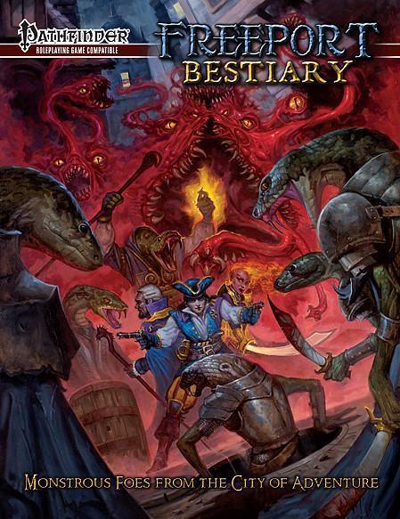 Pathfinder RPG: Freeport Bestiary