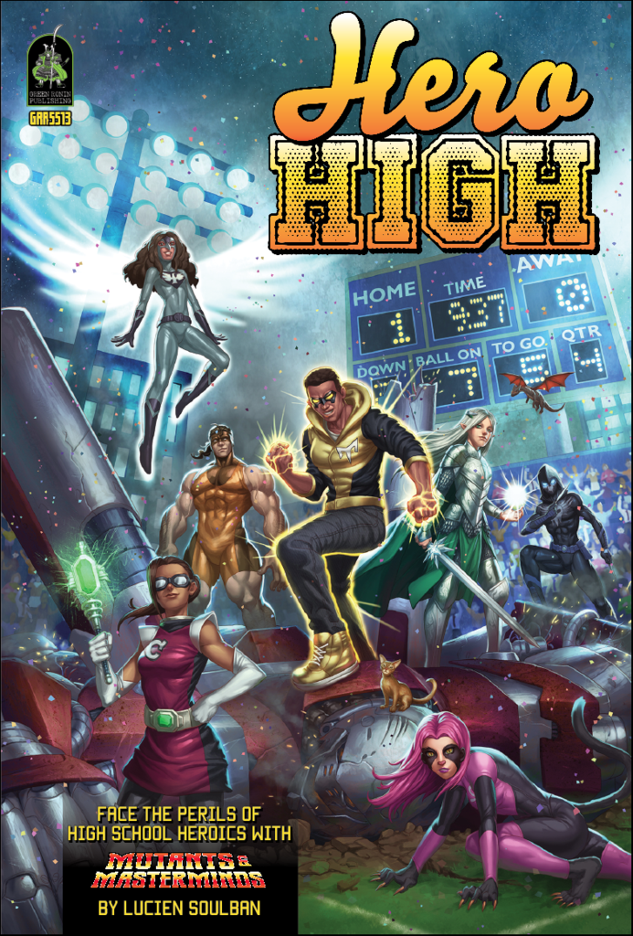 Mutants & Masterminds, 3rd Edition RPG: Hero High Sourcebook (Revised Edition)