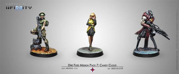 Infinity (#709): (Ariadna/Combined) Dire Foes Mission Pack 7 - Candy Cloud