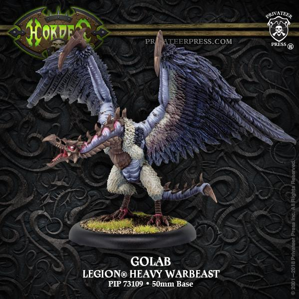 Hordes: Golab – Legion Character Heavy Warbeast (resin/metal)