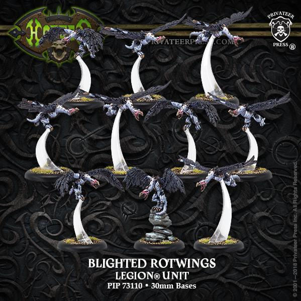 Hordes: Blighted Rotwings – Legion Unit (10) (resin/metal)