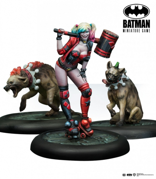 Batman Miniature Game: Harley Quinn Rebirth (Multiverse) (Resin)