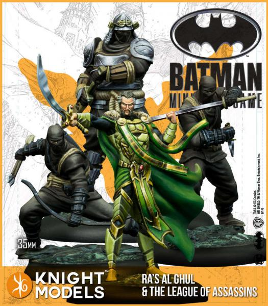 Batman Miniature Game: Ras Al Ghul and The League of Assassins (Resin)