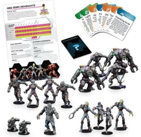 DreadBall 2nd Edition: New Eden Revenants – Cyborg Team