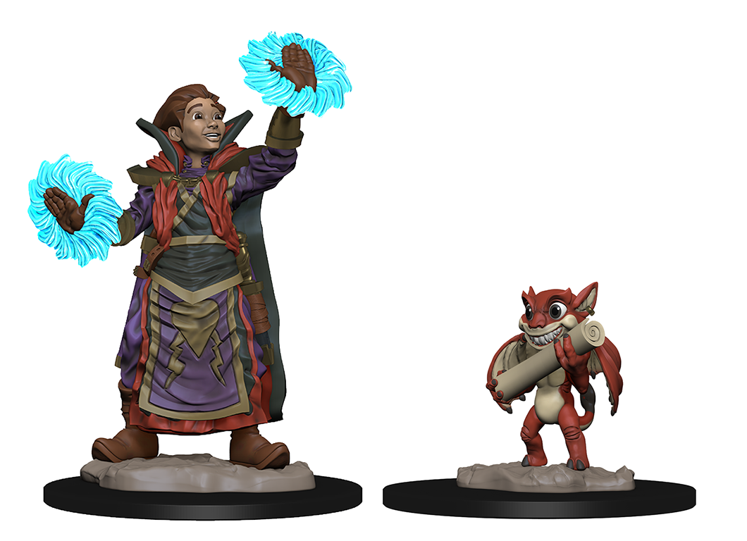 WizKids Wardlings: Boy Wizard & Imp
