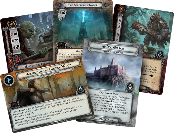 Lord of the Rings LCG: Attack on Dol Guldur Standalone Quest