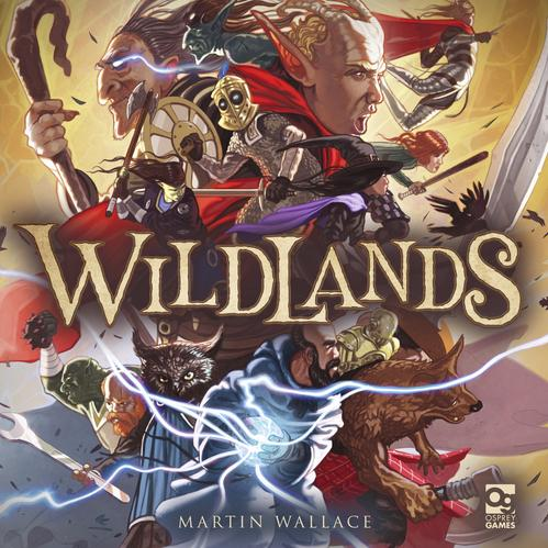 [Osprey Games] Wildlands: Scoundrels & Scavengers (Four-player Core Set)