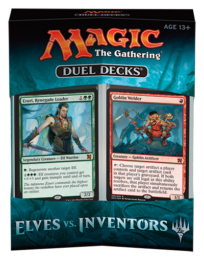 Magic the Gathering: Duel Decks - Elves Vs. Inventors (1)