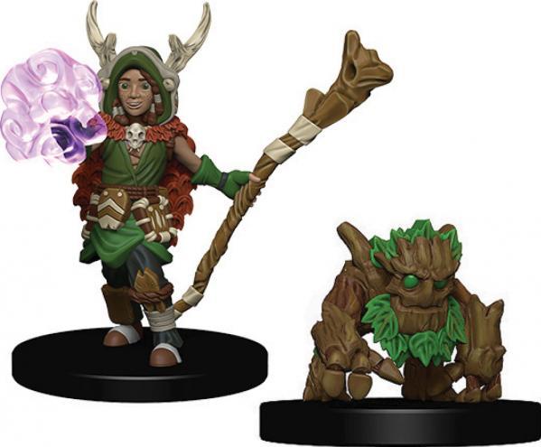 WizKids Wardlings: Boy Druid & Tree Creature