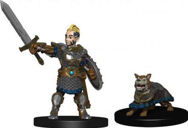 WizKids Wardlings: Boy Fighter & Battle Dog