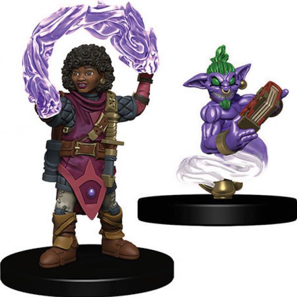 WizKids Wardlings: Girl Wizard & Genie