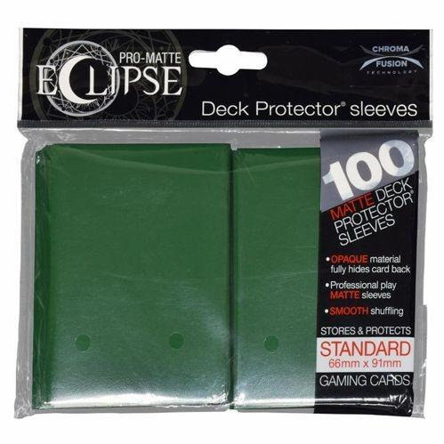 Ultra-Pro: Pro-Matte Eclipse Dark Green Deck Protector (100ct)