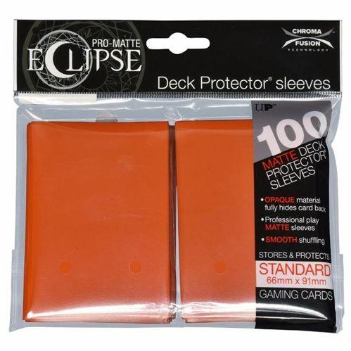 Ultra-Pro: Pro-Matte Eclipse Orange Deck Protector (100ct)