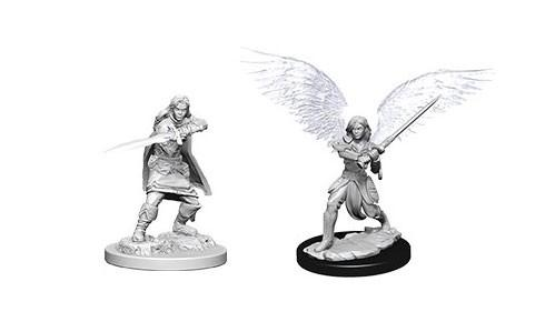 WizKids Nolzur's Marvelous Unpainted Miniatures: Female Aasimar Fighters (2)