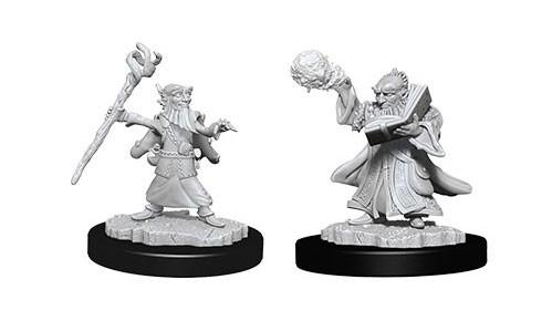 WizKids Nolzur's Marvelous Unpainted Miniatures: Male Gnome Wizards (2)