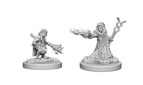 WizKids Nolzur's Marvelous Unpainted Miniatures: Female Gnome Wizards (2)
