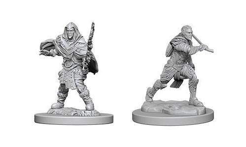 WizKids Nolzur's Marvelous Unpainted Miniatures: Male Elf Fighters (2)
