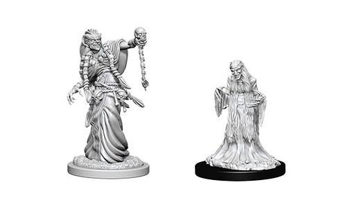 WizKids Nolzur's Marvelous Unpainted Miniatures: Green Hag & Night Hag (2)