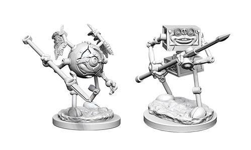 WizKids Nolzur's Marvelous Unpainted Miniatures: Monodrone & Duodrone (2)