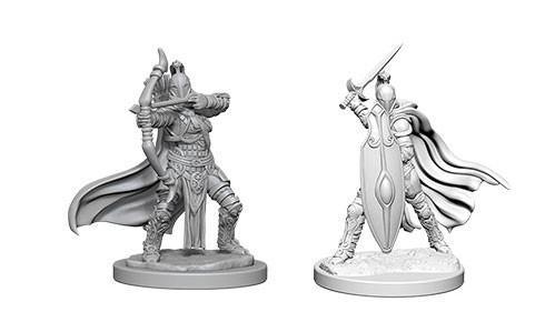 Pathfinder Deep Cuts Unpainted Miniatures: Female Knights / Gray Maidens (2)