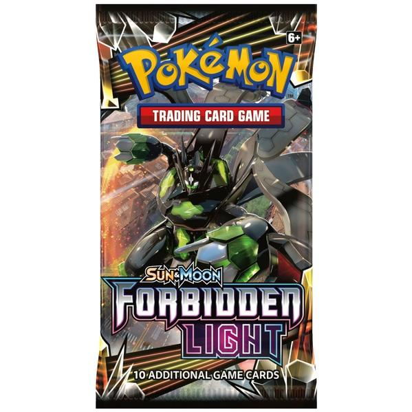 Pokemon CCG: Sun & Moon 6 Forbidden Light Booster Pack (1)