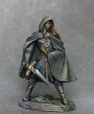 Visions In Fantasy: Male Rogue with Long Sword