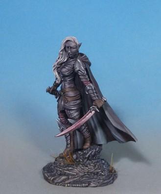 Visions In Fantasy: Female Dark Elf Warrior - Dual Wield