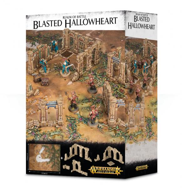Age of Sigmar: Realm of Battle - Blasted Hallowheart