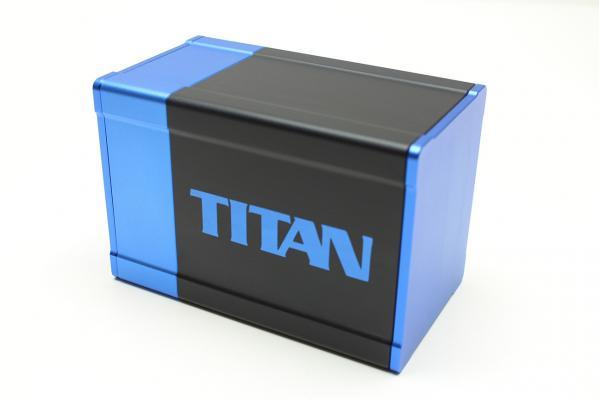 Titan Deck Box (Blue)
