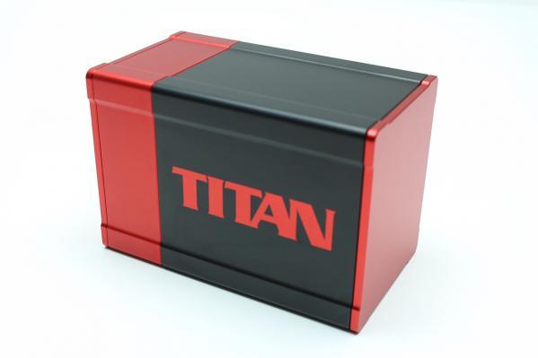 Titan Deck Box (Red)