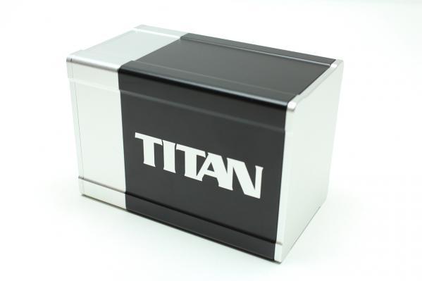 Titan Deck Box (Silver)