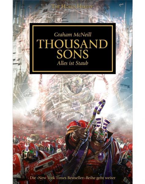 Warhammer 40K Novels: Horus Heresy - A Thousand Sons
