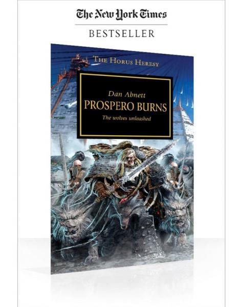 Warhammer 40K Novels: Horus Heresy - Prospero Burns