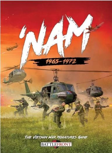 Flames Of War (Team Yankee): 'Nam 1965-1972 Core Rulebook (HC)