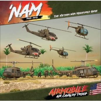 Flames Of War (Team Yankee): 'Nam 1965-1972 US Airborne Army Air Cavalry Troop (6)