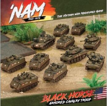 Flames Of War (Team Yankee): 'Nam 1965-1972 US Black Horse Armored Cavalry Troop